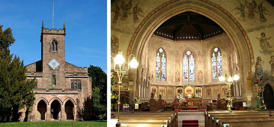 St Mary's Church, Cromford, Derbyshire